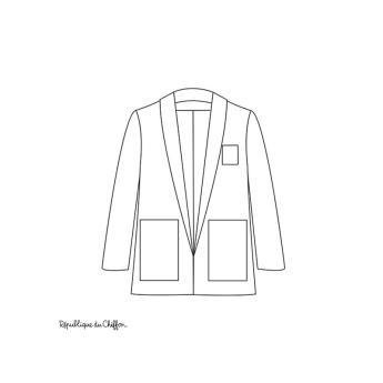 6579dae6 2- Identifier les principales modifications à effectuer (style) sur le  patron de la veste Françoise :